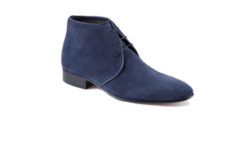 Suit Heren Schoenen Inc Blauw Suede Derby Hoog BedWrxoC
