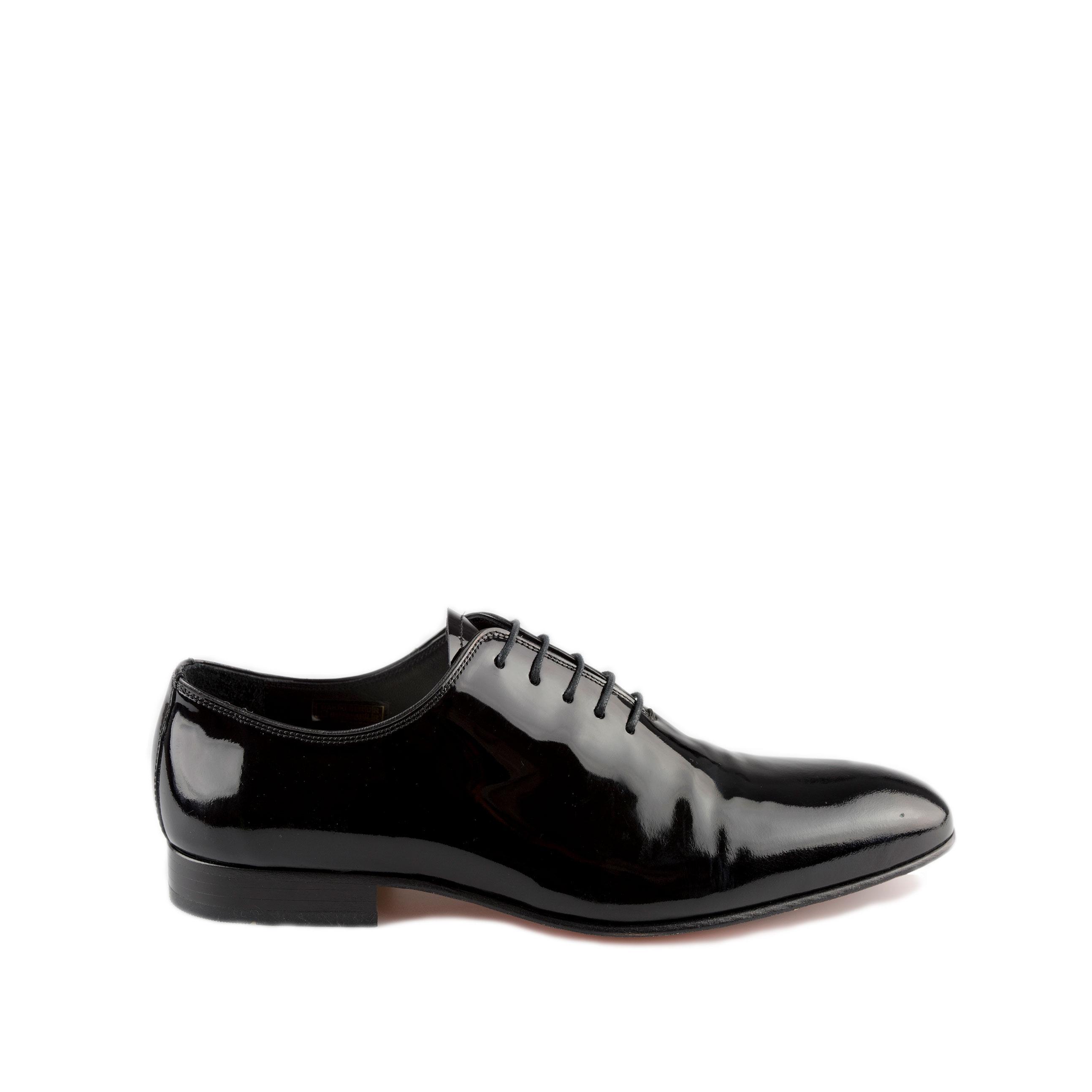 Zwarte lakleer schoenen