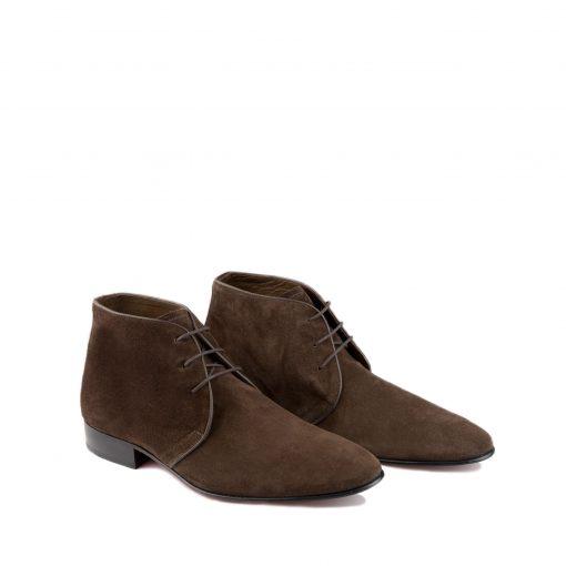 hoog suede heren schoenen